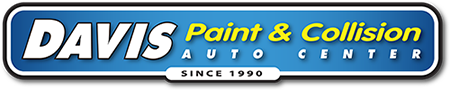 Davis Paint & Collision Auto Center Oklahoma City Retina Logo