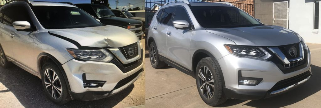 collision repair okc before and after photos - Davis Paint & Collision Auto Center