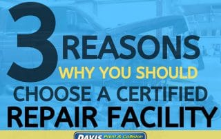 Why It Is Important To Choose A Certified Auto Body shop